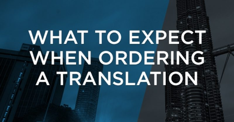 What to expect when ordering a translation | Wolfestone